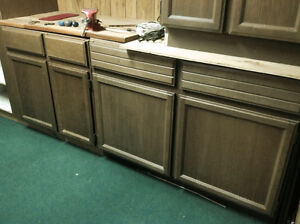 Used Maple Kitchen Cabinets, Great for Garage/workshop, bookcase