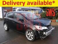 2017 Vauxhall Corsa SRi VX-Line Ecoflex 1.4 DAMAGED REPAIRABLE SALVAGE