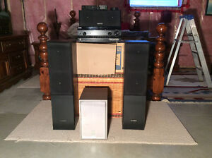 Sony Home Theater with Speakers