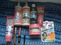 Soap and Glory toiletries and make up