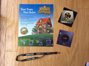 Nintendo Collectibles (Animal Crossing / Gamecube / GBA SP)