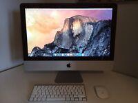 "Apple iMac 21"" Mid 2014 Core i5, 1.4GHz, 8GB RAM, 500GB HHD, Apple warranty"