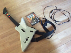 Ensemble Guitar Hero 3 legends of rock pour PC ou Mac à vendre