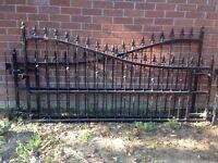 Gates Galvanised Wrought Iron