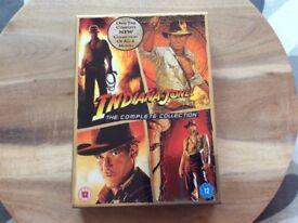 Indiana Jones D V D Box Set