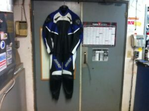rhyno leather race suit rs-1 size 44