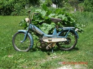 Moped  Motobecane Mobylette