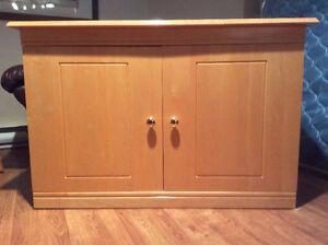 Solid, Birch Wood side board cabinet