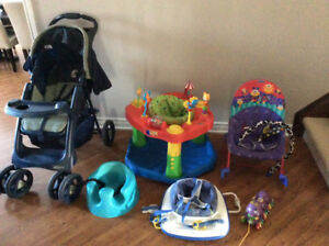 Baby stroller and baby stuff