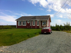 Quiet, Spacious and an Ocean View! Avail Now in Flatrock!