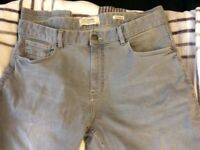 Men's grey denim jeans size 34 R from ACW85