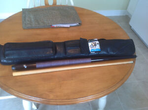 Dufferin Pool Stick , Case and Tips