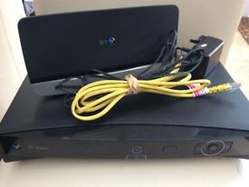 BT Vision Digital Box, Digital Video Recorder & BT Hub/Router