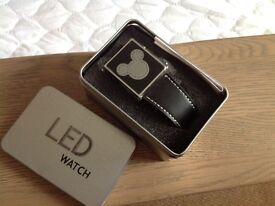 Mickey Mouse LED display wrist watch