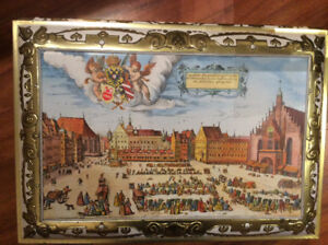 Vintage German E. Otto SCHMIDT Biscuit Tin from 1987