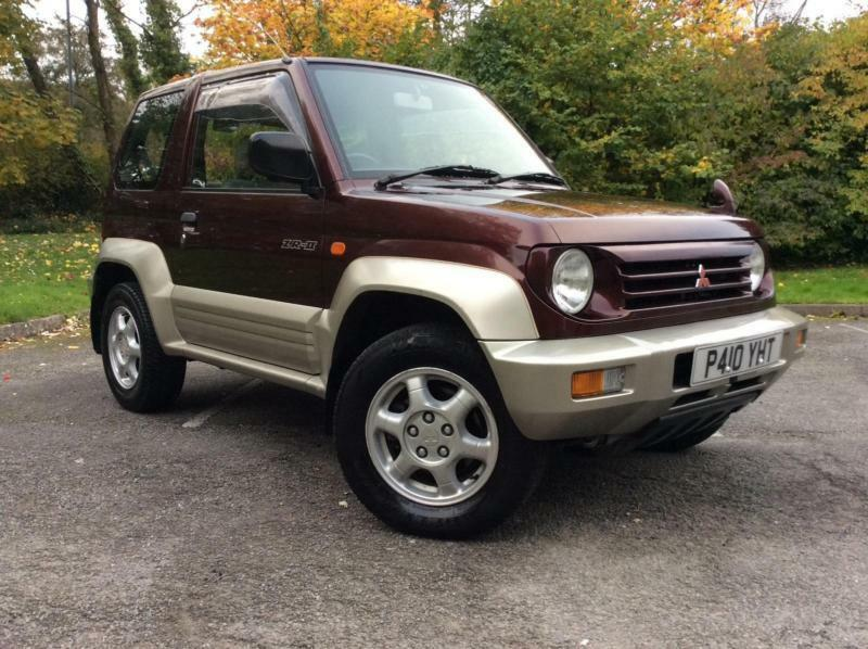 mitsubishi pajero junior small 4x4 automatic in cwmbran torfaen gumtree. Black Bedroom Furniture Sets. Home Design Ideas