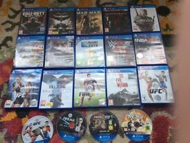 PS4 PlayStation games for sale