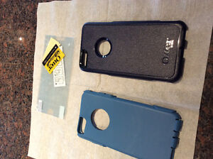 NEW Otter Box case for iPhone 6 Plus- blue/navy blue