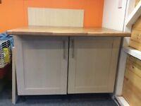 Kitchen units, kitchen island worktops