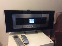 PHILIPS WACS 7000 wireless music system 80GB Hard Drive & WAS 7000 station