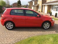 12 plate Volkswagen Golf 1.6TDi 105 Bluemotion Tech Match 5dr