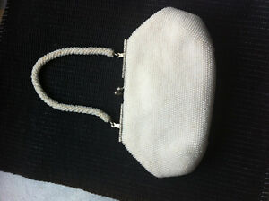 new vintage beaded clutch or evening purse