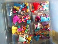 Polly pocket girls and outfits,polly pets,polly and car