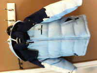 Pierre Cardin feather jacket, very warm