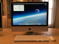 "Apple iMac 24"" 2.4GHz 2GB RAM 500GB HD"