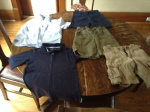 Boys size small 5/6 shorts and shirts