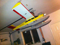 Remote Control RC Airplanes 25 Years of boxes of New +Used Parts