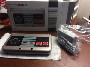 Nintendo 3DS XL RETRO NES Style Limited Edition