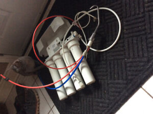Reverse osmosis unit.  Barely used.