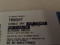 VIP Sunday 1st July £125 each