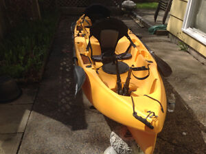 "Hobie ""Outfitter"" Tandem Mirage Drive Kayak"