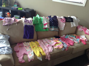 Baby girl clothing lot- 3-6 months