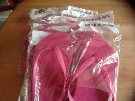 Assorted flip flops