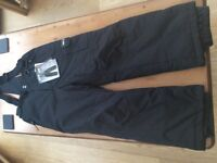 WEATHERPROOF 32 DEGREES SNOW SKI PANTS/TROUSERS - BRAND NEW WITH TAGS - BLACK