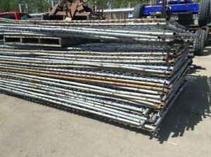 350' TEMPORARY CONSTRUCTION FENCE CHAIN LINK PANELS READY TO GO