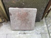 Free paving slabs 400 x 400 there's 8 in total