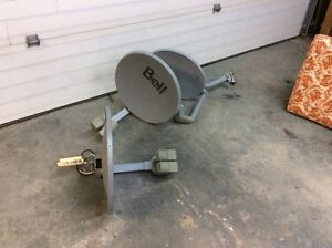 Bell satellite dishes