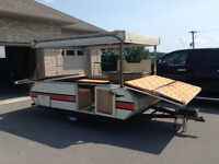 pop up trailer, make your own box trailer