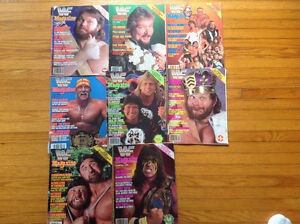 WWF Magazine Collection –  21 Magazines in Total!!