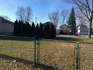 Lot for sale with view of Detroit River, with above ground pool