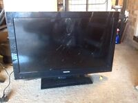 """Two TVs with broken screens. One 42"""" one 32"""" as pictured"""