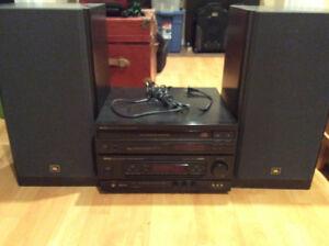 Set audio ( haut-parleur, amplificateur et lecteur DVD )