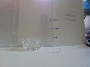 Miniature Glass Garnish Dish Kitchener / Waterloo Kitchener Area image 2