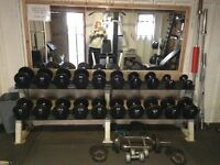 Complete home gym very good condition.
