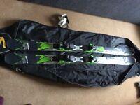 Salamon X Drive 8.0 skis with XT12 bindings