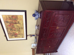 Chinese furniture and accent pieces